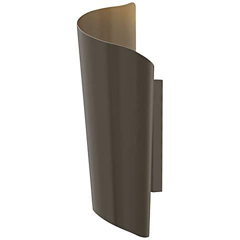 "Hinkley Surf 24"" High Bronze Outdoor Wall Light"