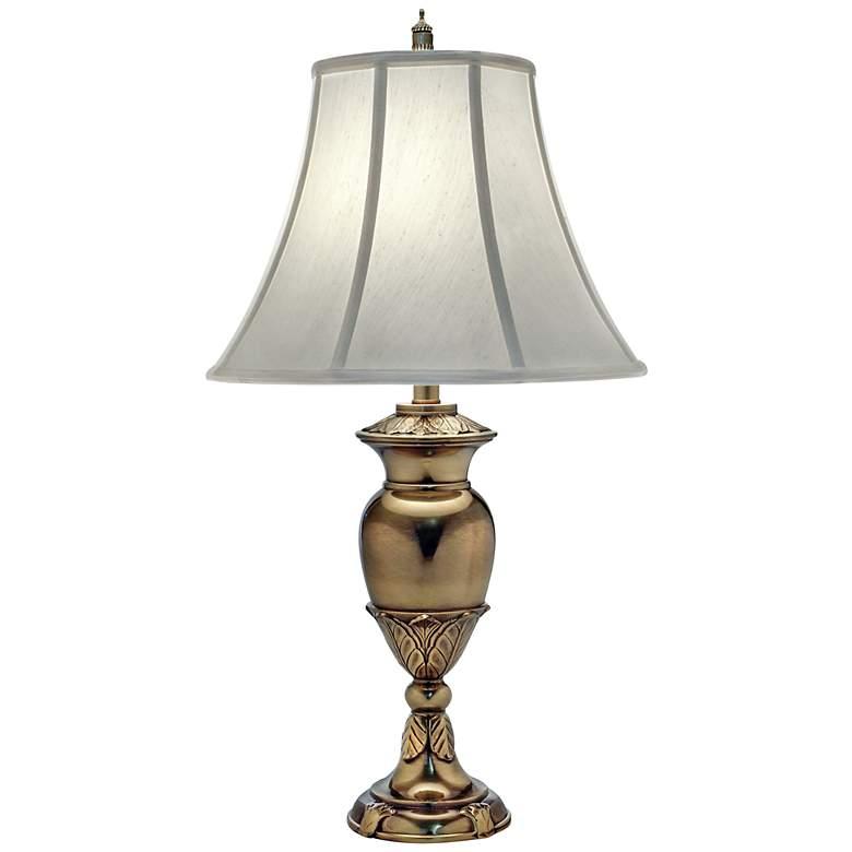 Stiffel Burnished Brass Urn Table Lamp