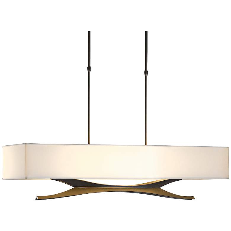 Hubbardton Forge Moreau Dark Smoke Pendant Light