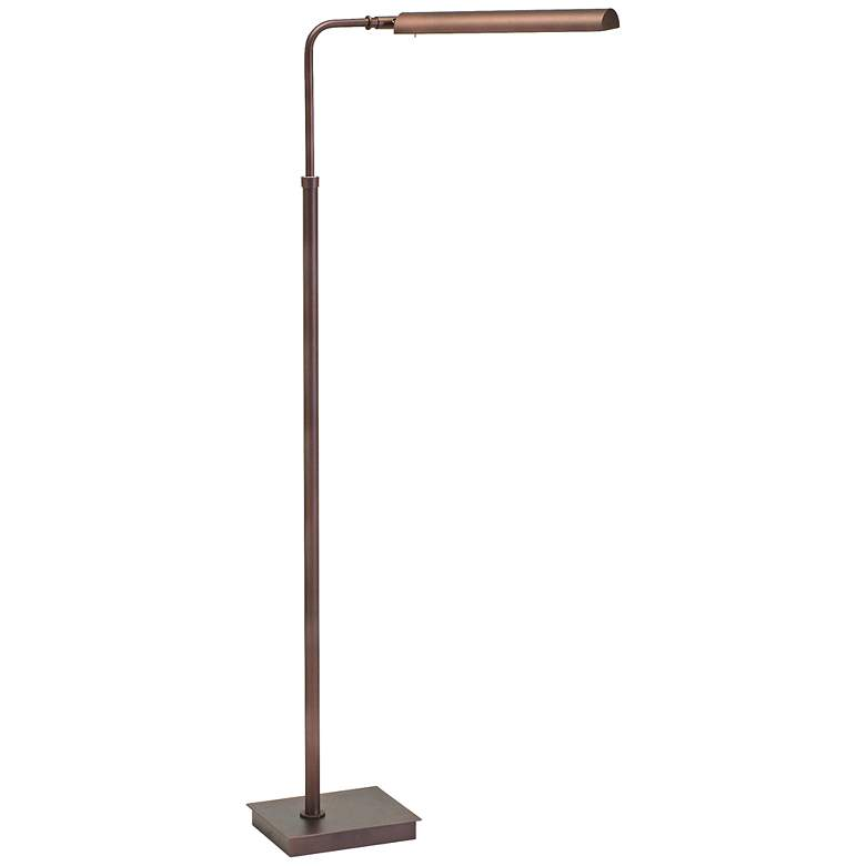 Generation Adjustable Bronze LED Floor Lamp by House of Troy