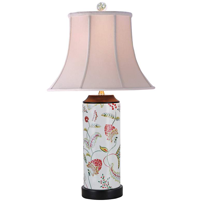 Japanese Imari Porcelain Table Lamp