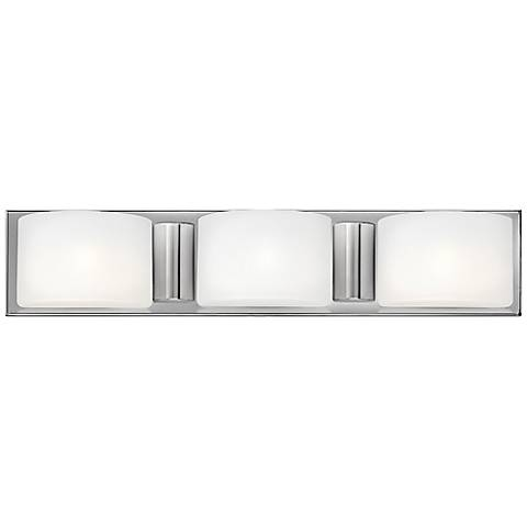 "Hinkley Daria 24"" Wide Etched Opal 3-Light Bath Light"