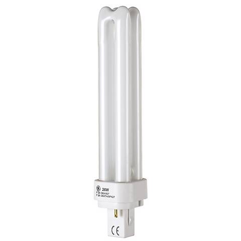 F26 Double Biax Bi-Pin CFL Light Bulb