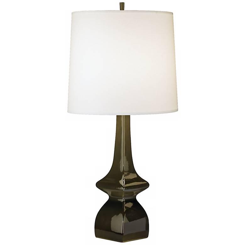 Jayne Tobacco Brown Glazed Ceramic Table Lamp