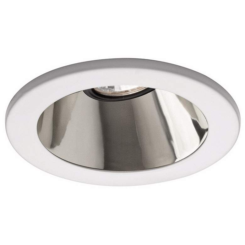 "WAC 4"" Low Voltage Reflector Recessed Light White Trim"
