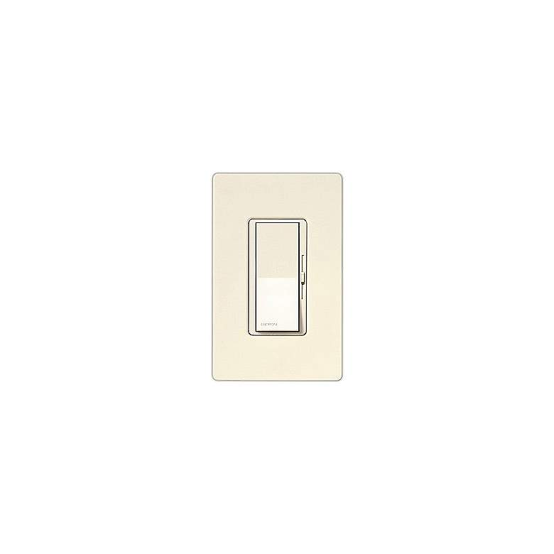Lutron Diva SC 600W Single Pole Biscuit Off-White Dimmer