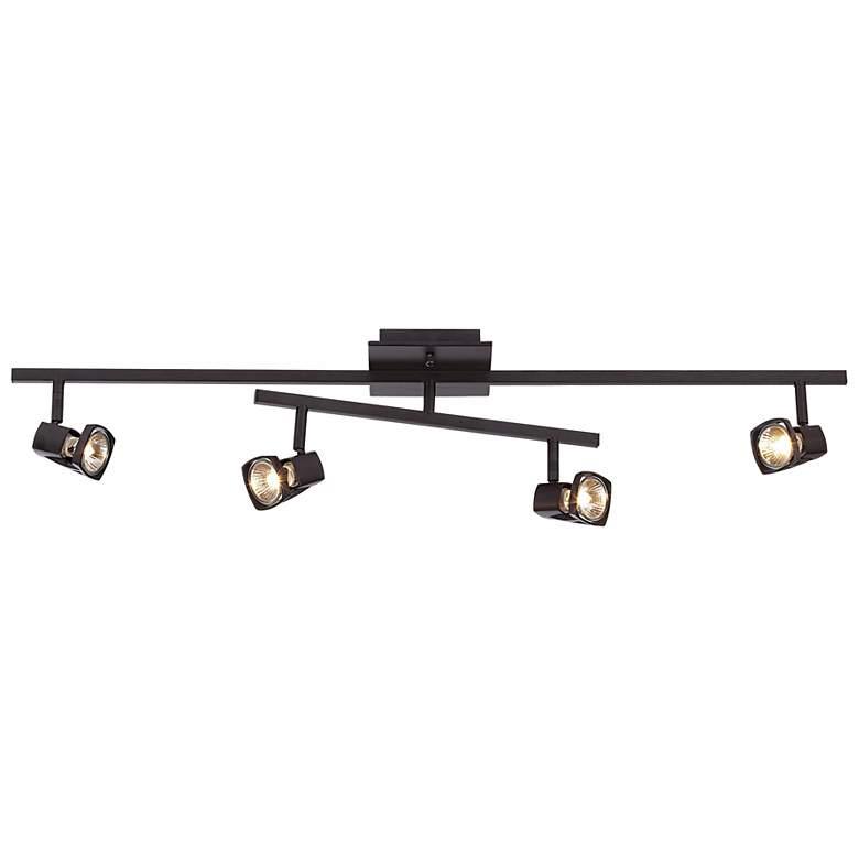 "LED Pro Track® 36"" Wide Bronze 4-Light Compete Track Kit"