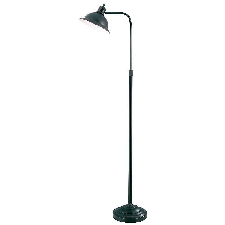 Lite Source Aged-Copper Adjustable Pharmacy Floor Lamp