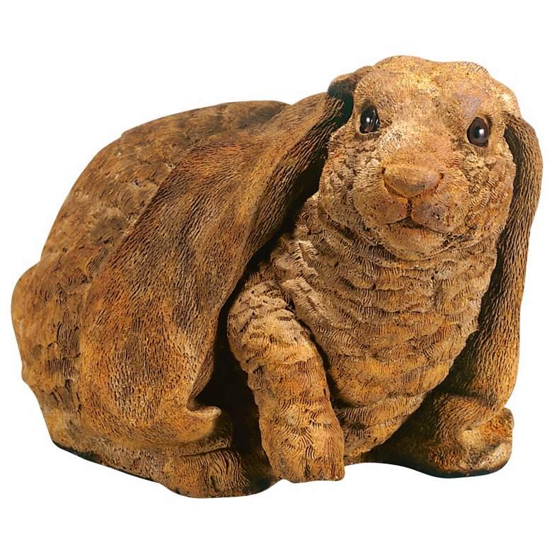 "Henri Studio Lifted Paw Lop-Eared Rabbit 13""W Garden Accent"