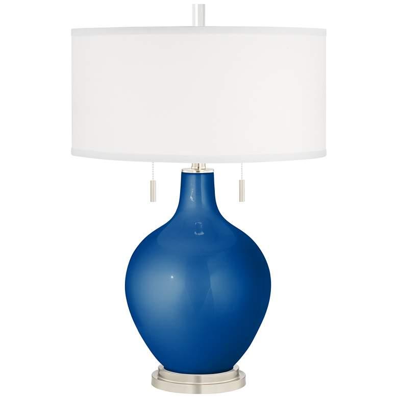 Ocean Metallic Toby Table Lamp