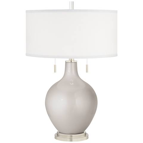 Silver Lining Metallic Toby Table Lamp