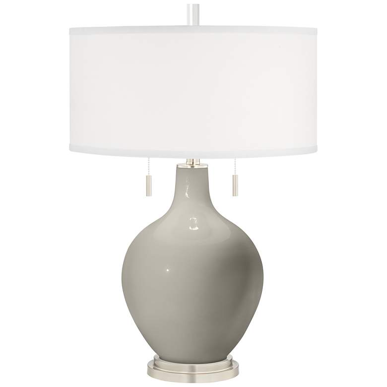 Requisite Gray Toby Table Lamp