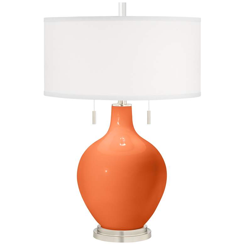 Nectarine Toby Table Lamp