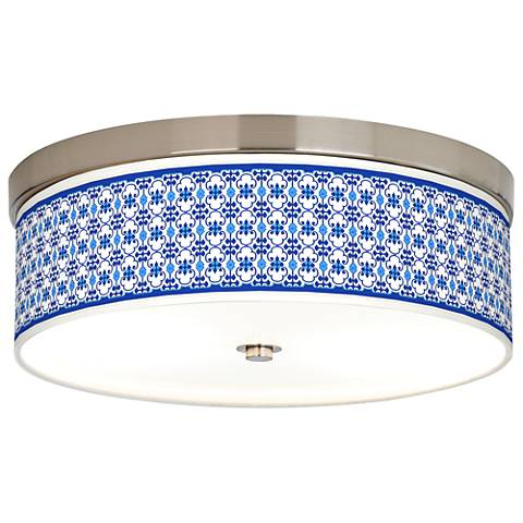 Indigo Path Giclee Energy Efficient Ceiling Light