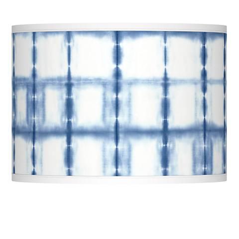 Blue Mist Giclee Lamp Shade 13.5x13.5x10 (Spider)