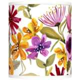 Bountiful Blooms Giclee Shade 10x10x12 (Spider)