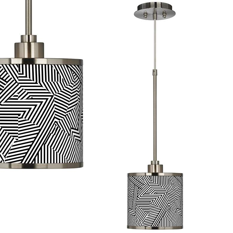 Labyrinth Giclee Glow Mini Pendant Light