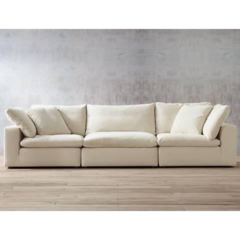 Skye Classic Natural 3-Piece Modular Sofa