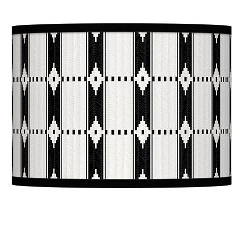 Tribal Weave Giclee Lamp Shade 13.5x13.5x10 (Spider)