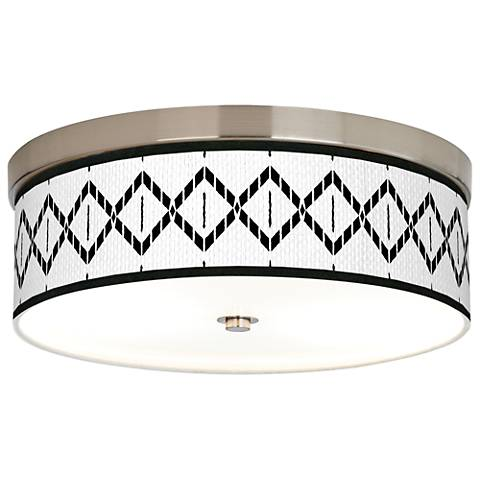 Paved Desert Giclee Energy Efficient Ceiling Light