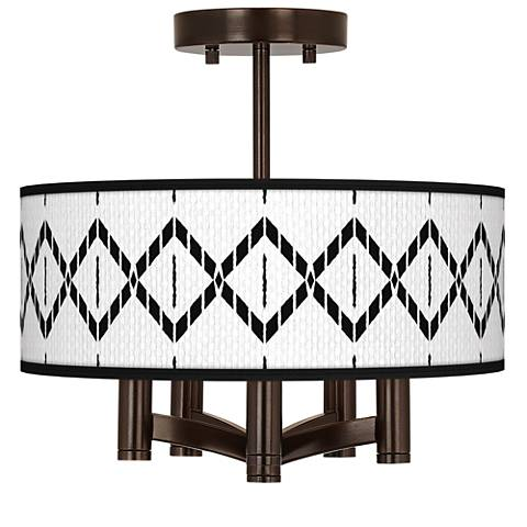 Paved Desert Ava 5-Light Bronze Ceiling Light