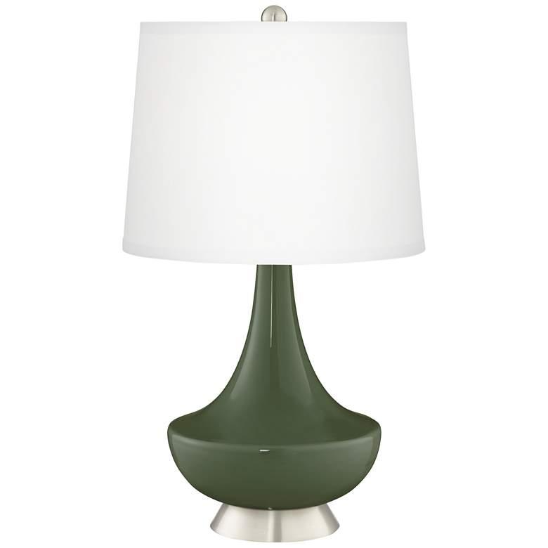 Secret Garden Gillan Glass Table Lamp