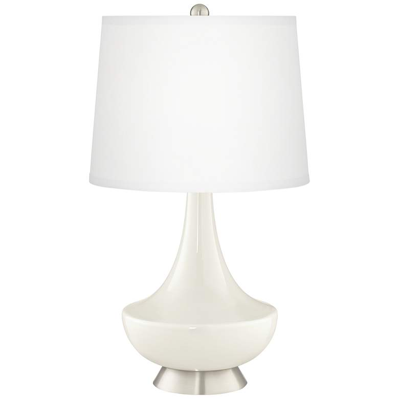 West Highland White Gillan Glass Table Lamp