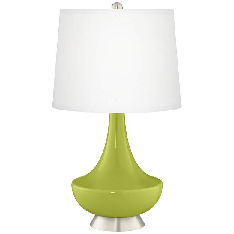 Parakeet Gillan Glass Table Lamp