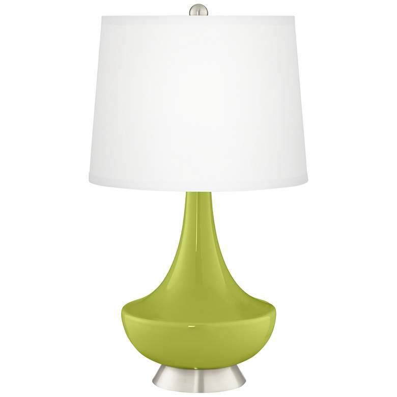 Parakeet Gillan Glass Table Lamp
