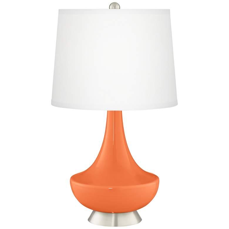 Nectarine Gillan Glass Table Lamp