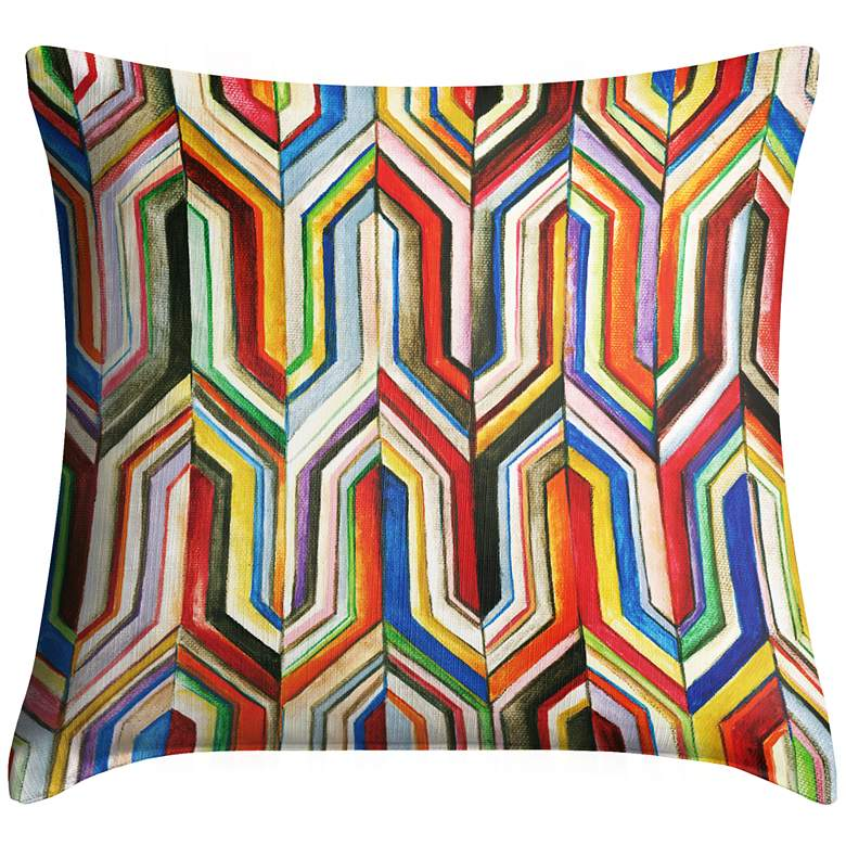 """Synthesis 18"""" Square Throw Pillow"""