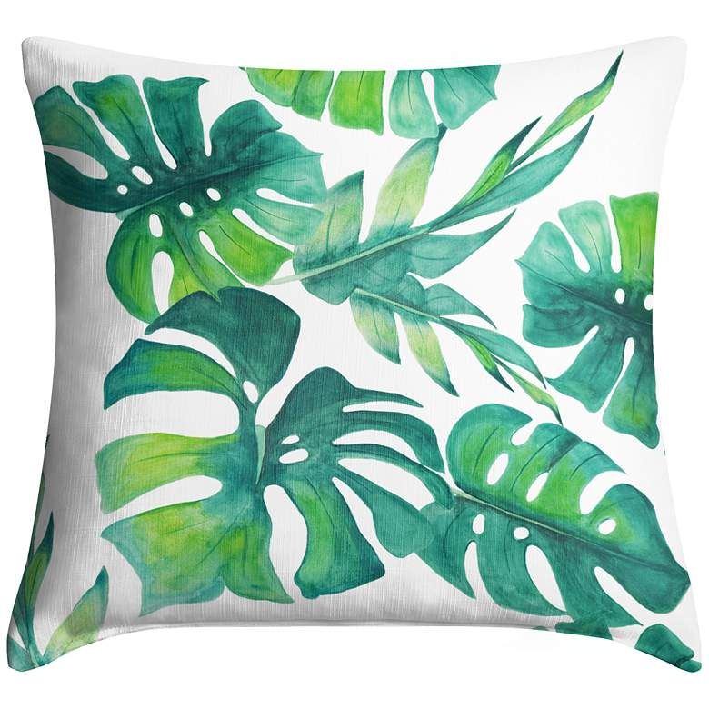 "Tropica 18"" Square Throw Pillow"