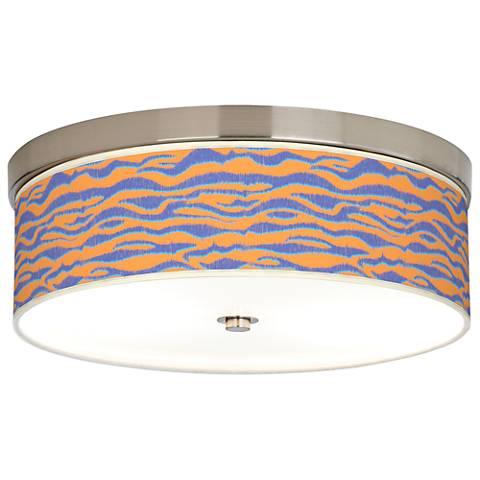 Sunset Stripes Giclee Energy Efficient Ceiling Light