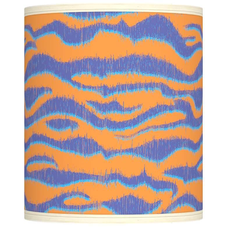 Sunset Stripes Giclee Shade 10x10x12 (Spider)