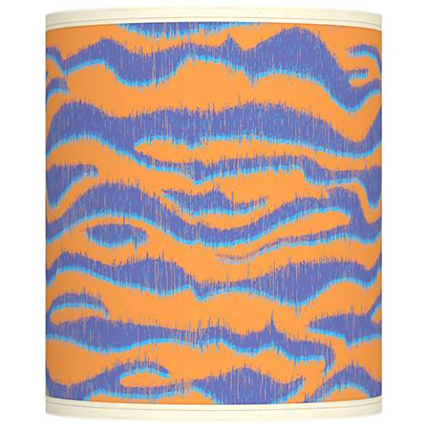 Sunset Stripes Giclee Shade 10x10x12 (Spider)