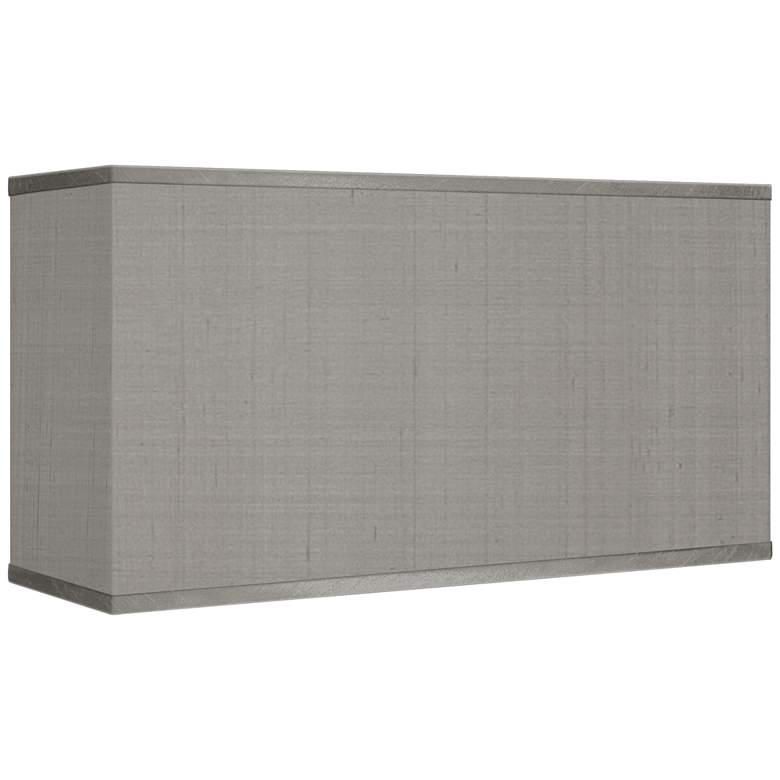 Gray Polyester Rectangular Shade 8/17x8/17x10 (Spider)