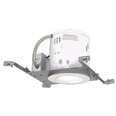 "6"" Non-IC New Construction LED Trim Recessed Light Kit"