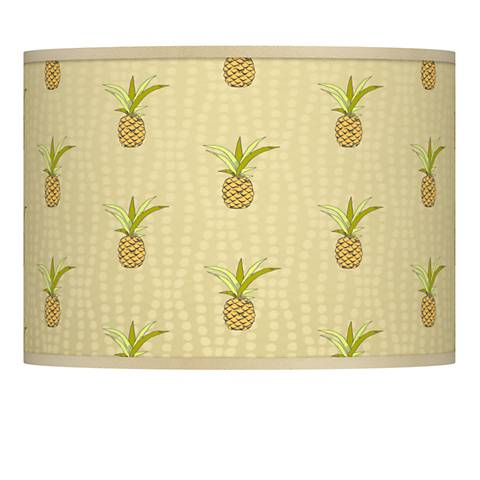 Pineapple Delight Giclee Lamp Shade 13.5x13.5x10 (Spider)