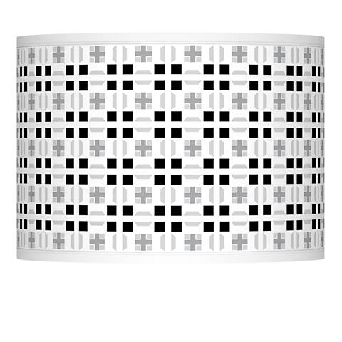 Quadrant Giclee Lamp Shade 13.5x13.5x10 (Spider)
