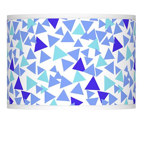 Geo Confetti Giclee Lamp Shade 13.5x13.5x10 (Spider)