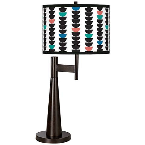 Semi-Dots Giclee Novo Table Lamp