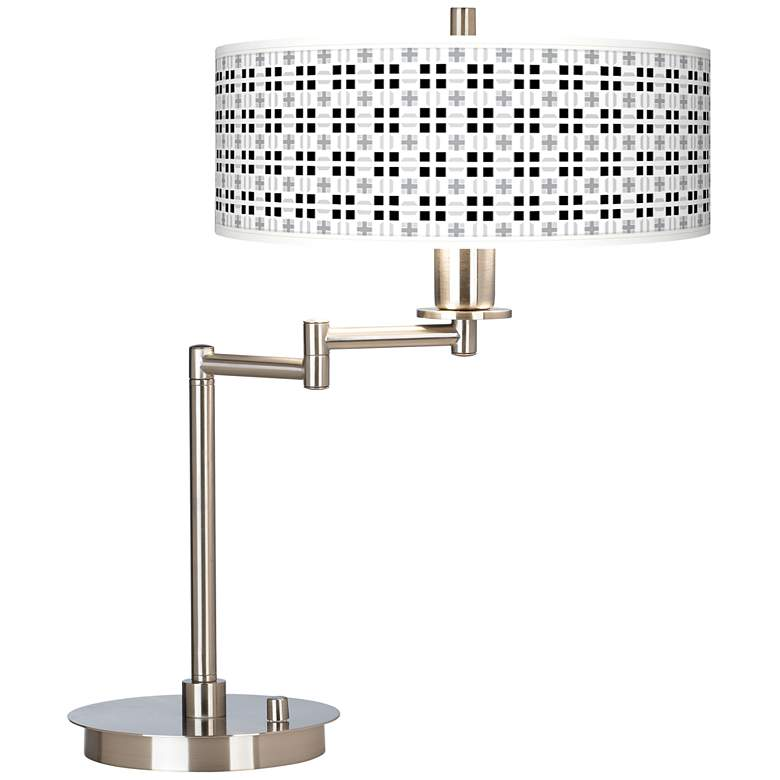 Quadrant Giclee CFL Swing Arm Desk Lamp