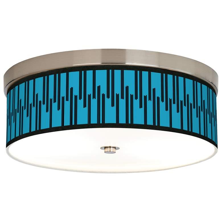 Segments Giclee Energy Efficient Ceiling Light