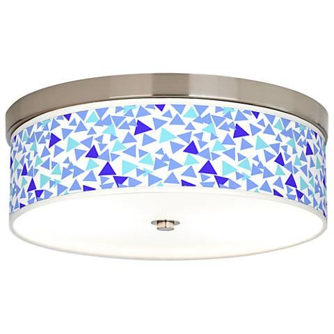 Geo Confetti Giclee Energy Efficient Ceiling Light