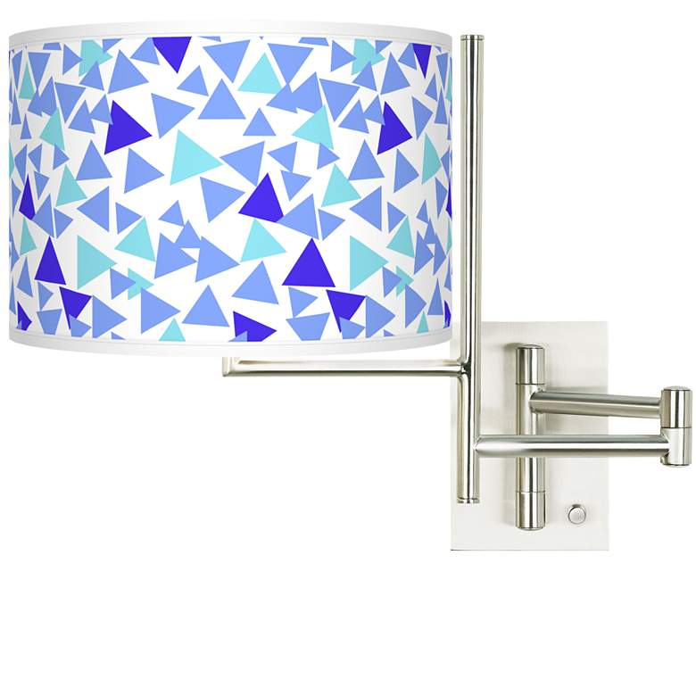 Tempo Geo Confetti Plug-in Swing Arm Wall Lamp