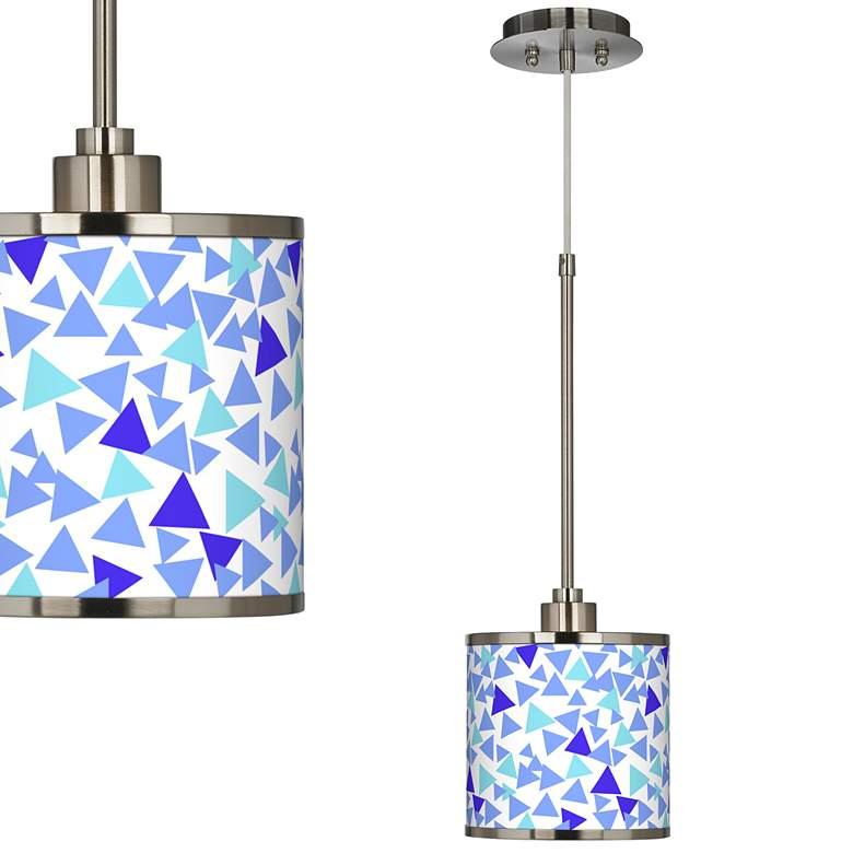 Geo Confetti Giclee Glow Mini Pendant Light