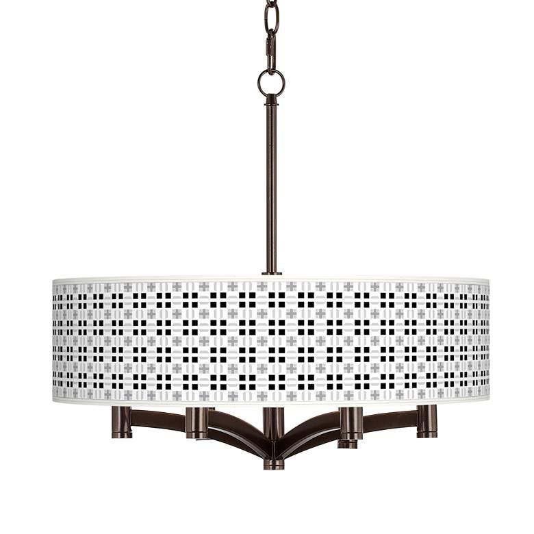 Quadrant Ava 6-Light Bronze Pendant Chandelier