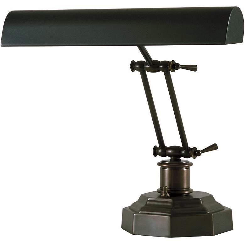 Dark Mahogany Bronze Finish Piano Desk Lamp