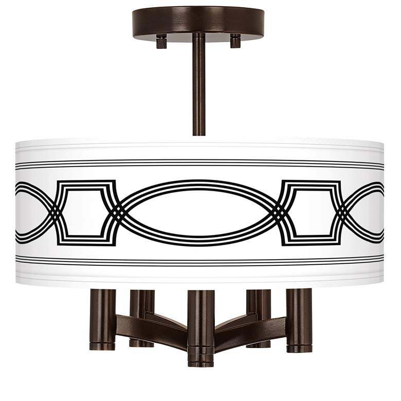 Concave Ava 5-Light Bronze Ceiling Light