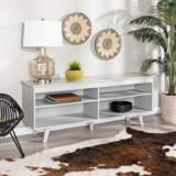 Jones Gray Wood TV Console